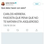 La hija de Carlos Herrera responde a este grave comentario a su padre:
