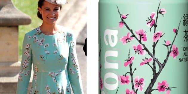 La robe de Pippa Middleton au mariage du prince Harry et de Meghan Markle a rappelé une célèbre boisson