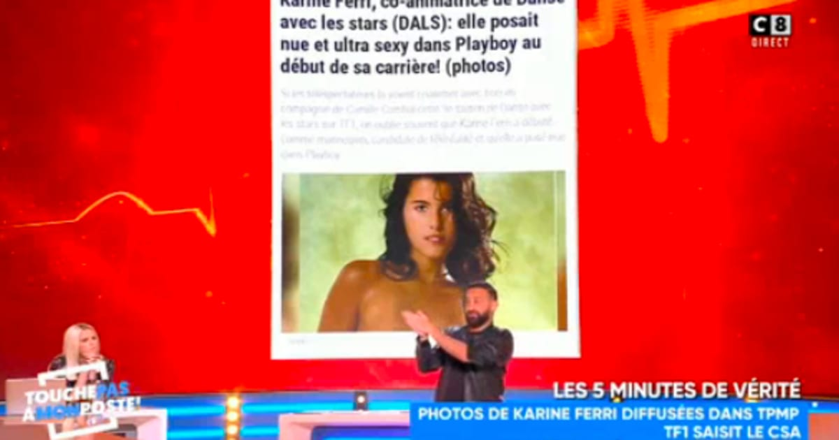 Karine Ferri Playboy