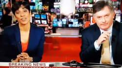 El (muy) desafortunado gesto de una presentadora de la BBC en pleno directo del atentado de