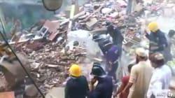 Crolla un palazzo a Mumbai, decine di persone intrappolate sotto le macerie. Almeno 3