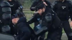 La vidéo d'une altercation avec un homme en fauteuil roulant indigne, la gendarmerie répond qu'il avait une