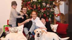 Céline Dion partage pour Noël une adorable photo de