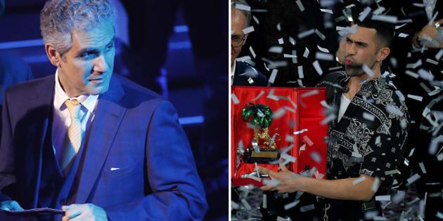Marcello Foa - Mahmood, vincitore del festival di Sanremo 2019