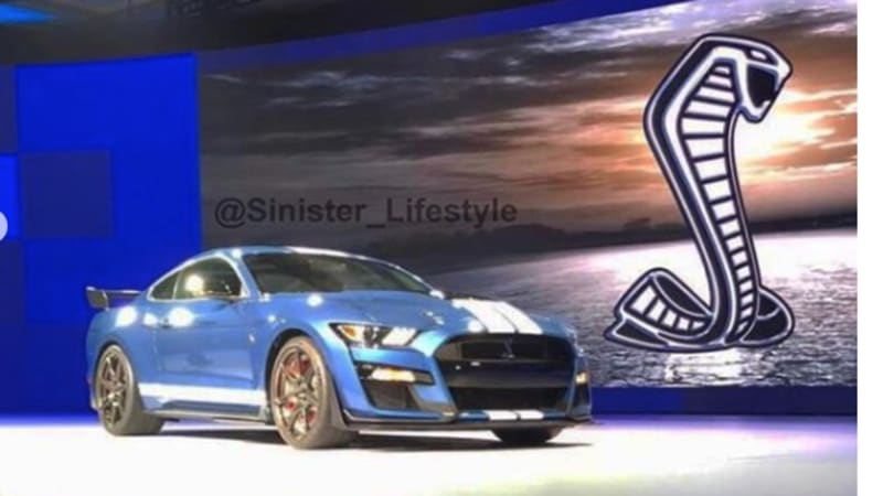 2020 Ford Shelby Gt500 Revealed In Leaked Instagram Post