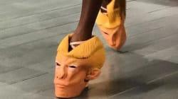 Des chaussures Donald Trump font