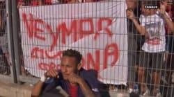 Neymar chambre les chambreurs après son but face à Nîmes avec le