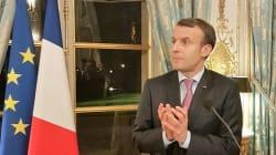 Devant les députés LREM, Macron dresse