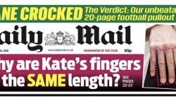 Oui, des Britanniques se sont penchés sur la longueur des doigts de Kate