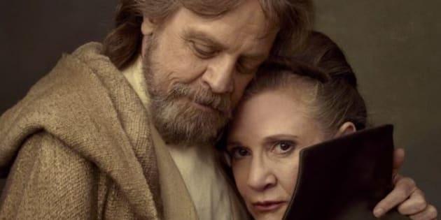 Carrie Fisher sera dans l'épisode 8, tourné avant son décès.