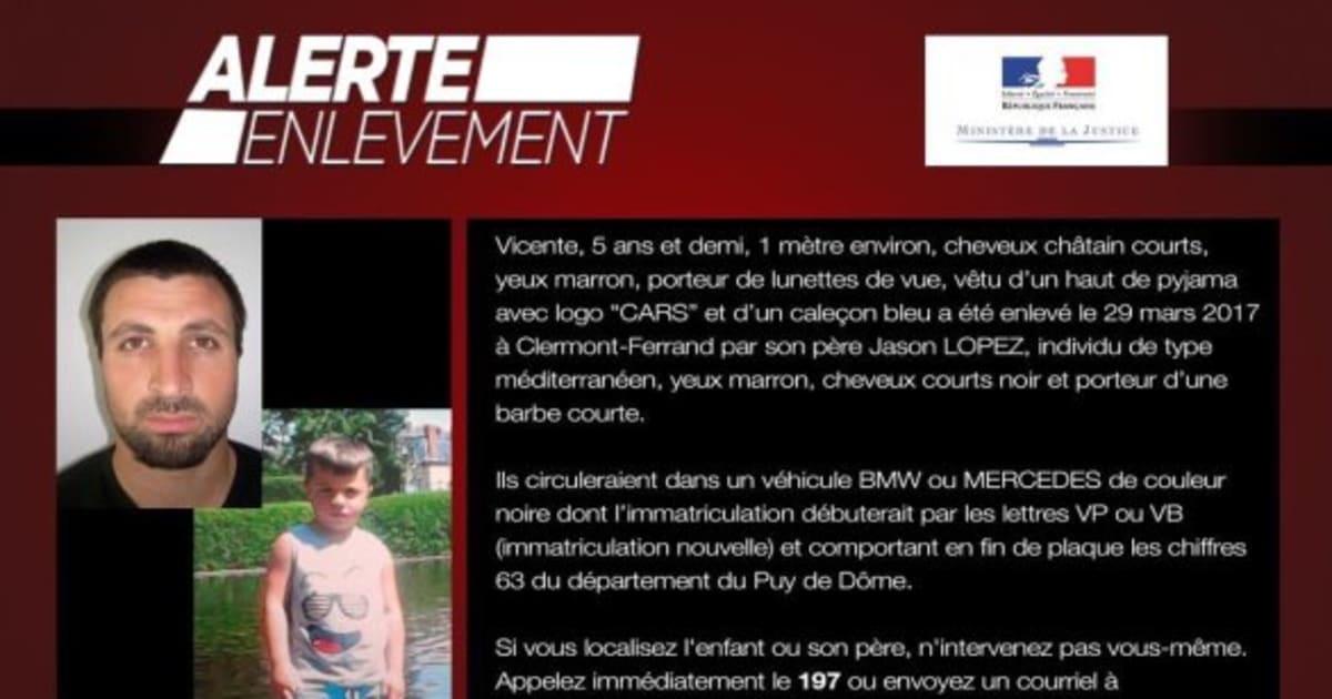 Le petit Vicente, enlevé par son père Jason Lopez, a été retrouvé - Le Huffington Post