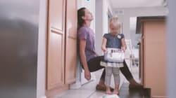 Cette vidéo montre qu'une journée normale d'une mère c'est une journée magique pour son