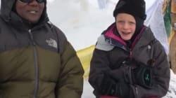 À 7 ans, elle atteint le sommet du Kilimandjaro pour rendre hommage à son père