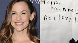 Jennifer Garner Shares Precious 'Love Note' Written By 5-Year-Old