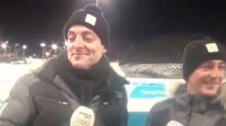 Ce journaliste de France 2 a complètement craqué en direct des JO en