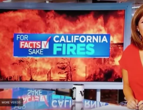 Anchor's slip-up on live TV sets the internet aflame