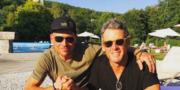 """Lance Armstrong """"aime"""" Jan Ullrich (et lui a rendu visite)."""