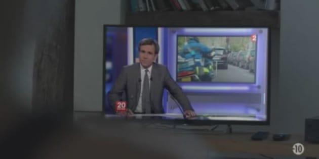 David Pujadas ne présentera plus le 20 heures de France 2: ces scènes de cinéma où il jouait son propre rôle