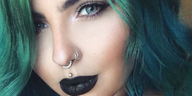 Sydney-based Jazmina Daniel paints her lips for a living.