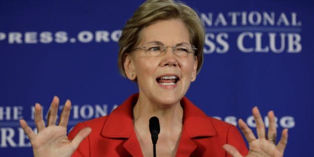 """Surnommée """"fausse Pocahontas"""" par Trump, cette sénatrice démocrate dévoile un test ADN pour le faire taire"""