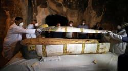 In un sarcofago del XIII secolo è stata trovata la mummia di una
