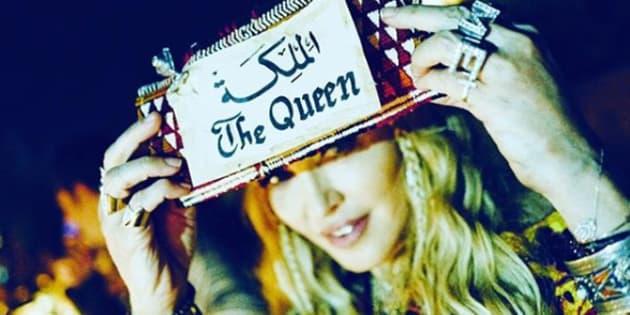Madonna est à Marrakech et rappelle à tout le monde qui elle est.