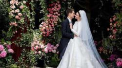 Les photos du mariage entre le top modèle Miranda Kerr et le fondateur de Snapchat enfin