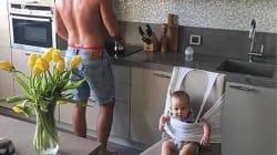 """子育てをラクちんにやる方法。これが、お父さんが考えだした""""パパハック""""だ(画像)"""