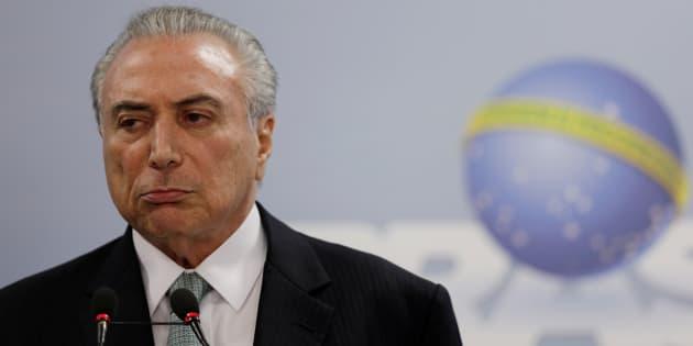 Presidente Michel Temer diz que não renuncia ao cargo.