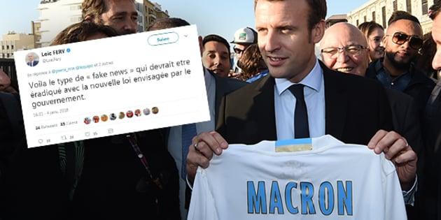 """""""Fake news"""": élargir la proposition d'Emmanuel Macron aux rumeurs de transferts, est-ce envisageable?"""