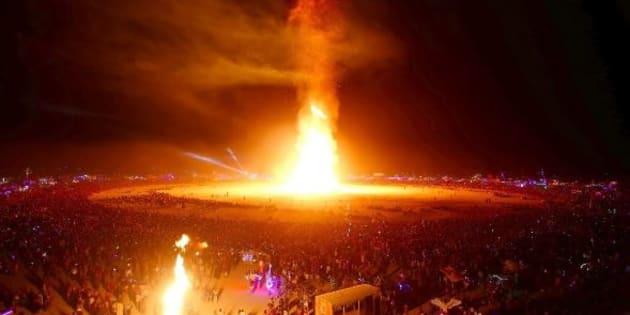 Les photos les plus dingues du festival Burning Man 2017