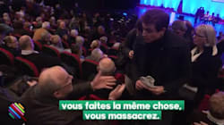 Au meeting de Fillon, un de ses partisans compare les journalistes aux nazis à