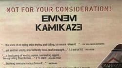 Même avec ses publicités, Eminem est le roi du