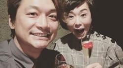 香取慎吾&大下容子アナの写真に32万件の「いいね」 スマステコンビに反響