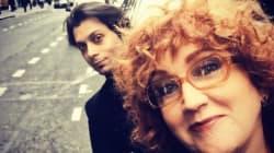Fiorella Mannoia e Carlo di Francesco per la prima volta insieme in un selfie: