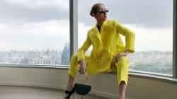 Avec cette tenue et cette pose, Céline Dion respire la confiance en