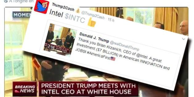 Cet ingénieur Google a trouvé comment gagner en bourse grâce aux tweets incendiaires de Donald Trump