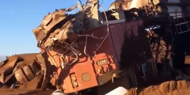 Un gigantesque train sans conducteur s'emballe en Australie