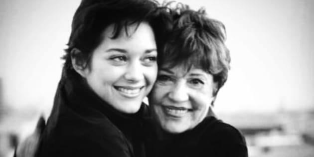Marion Cotillard et Jeanne Moreau