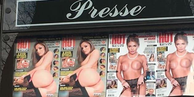 Le magazine porno qui a énervé Florence Foresti lui répond.