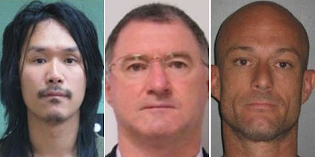 Eugene T Rumjahn, Graham G Potter and Dane G Moore are fugitives.
