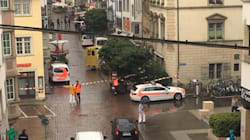 Svizzera, aggredisce persone con una motosega. Cinque
