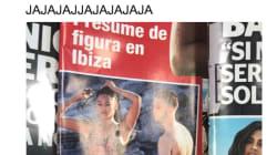 Cachondeo por el titular de esta revista sobre Berta Vázquez y C.