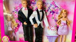 Ils créent un coffret «Barbie mariage» avec un couple gay (et Mattel a