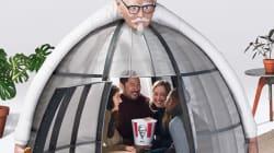 KFC ha lanciato una tenda per chi non ne può più di Internet (ma il costo è di 10mila