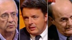 Sfida degli ascolti tra gli ex segretari Pd, Veltroni batte Renzi nel duello