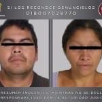 Pareja de feminicidas confiesa haber matado a 10