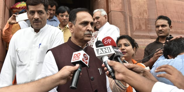 Vijay Rupani in a file photo.