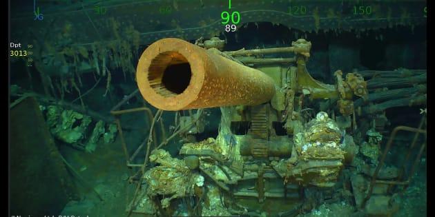 L'épave de l'USS Lexington, porte-avion américain coulé en 1942 a enfin été retrouvée.