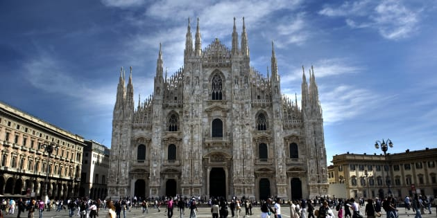 A general view of the Milan Cathedral